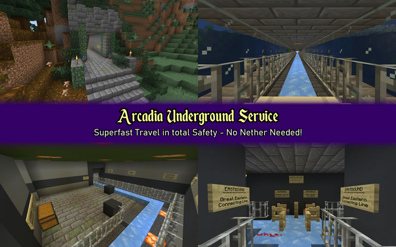 Images of the Arcadia Underground